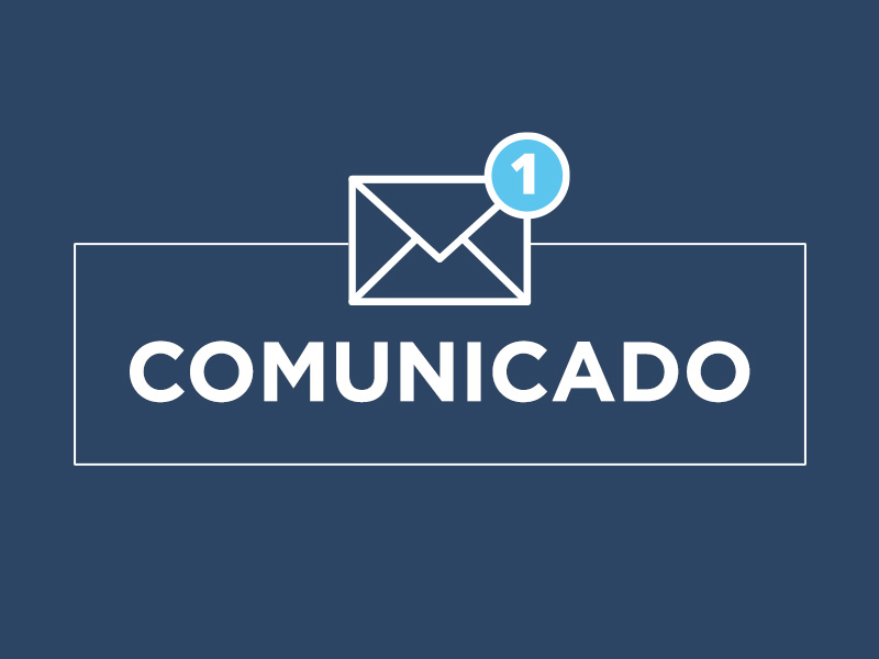 COMUNICADO | 13 de julio