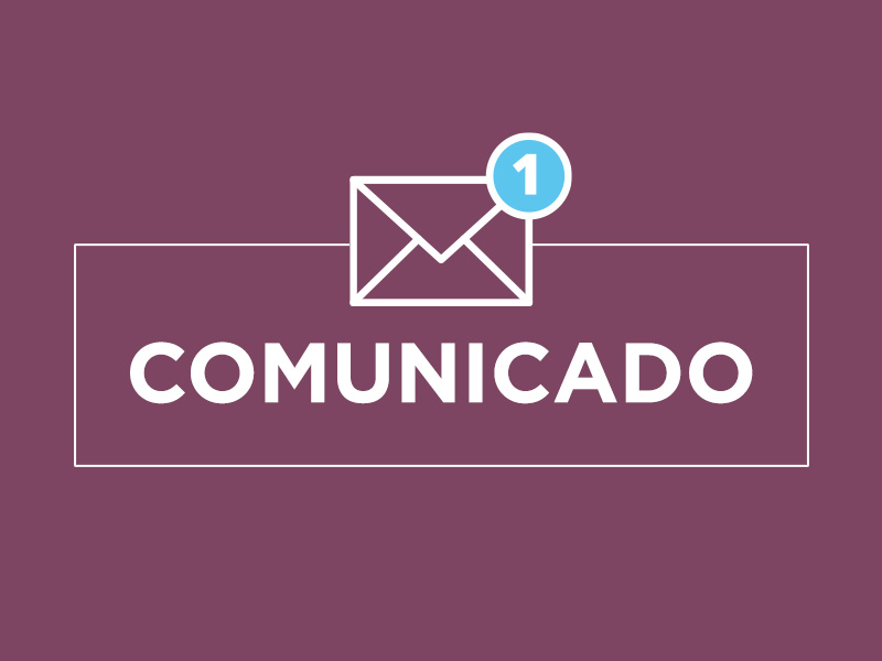 COMUNICADO | 24 de julio