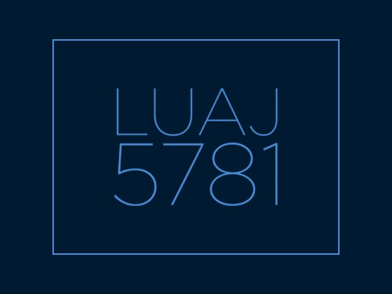 LUAJ 5781
