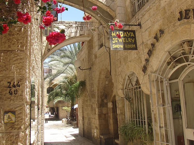 Paseo por la ciudad vieja de Jerusalem