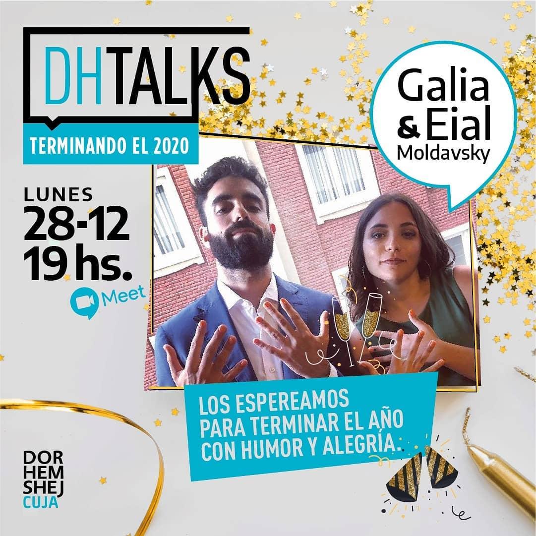 ¡Último #DHTalks del año! Con Eial y Galia Moldavsky