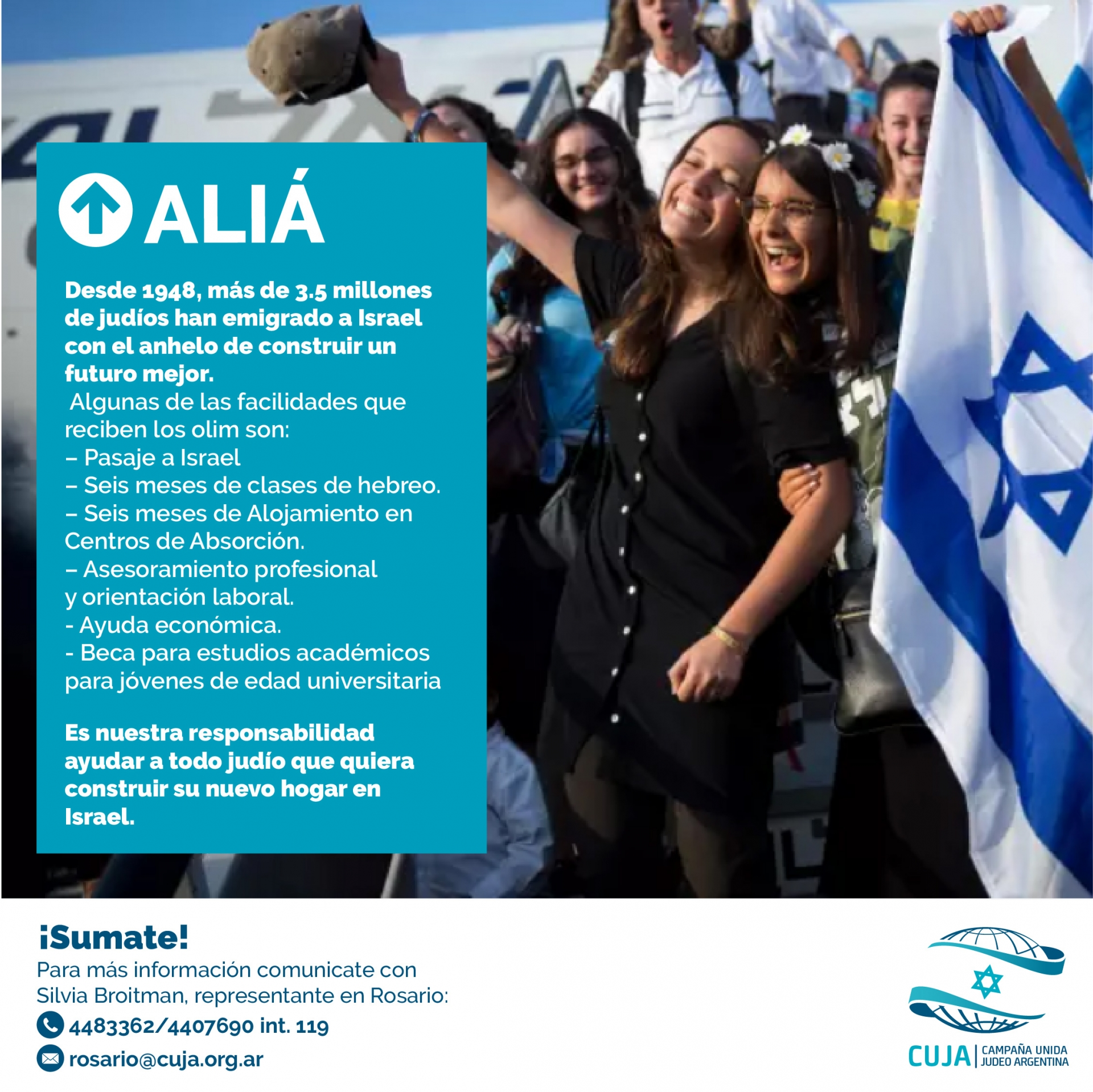ALIÁ: un nuevo hogar en Israel