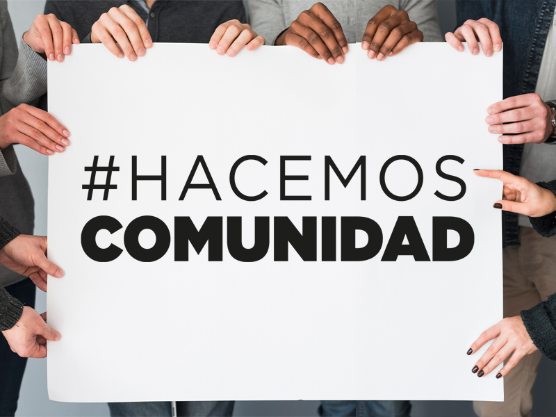 HACEMOS COMUNIDAD