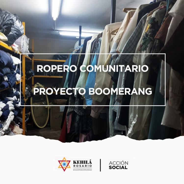 Ropero Comunitario   Proyecto Boomerang