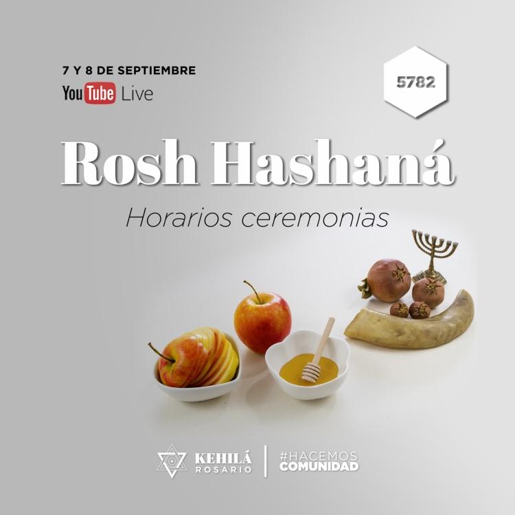 ROSH HASHANÁ 5782