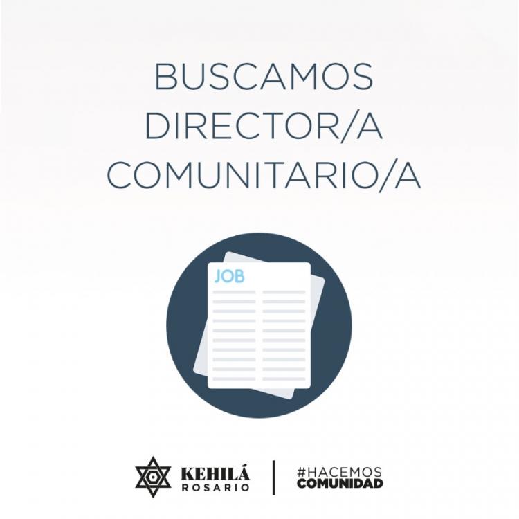 Director/a Comunitario/a